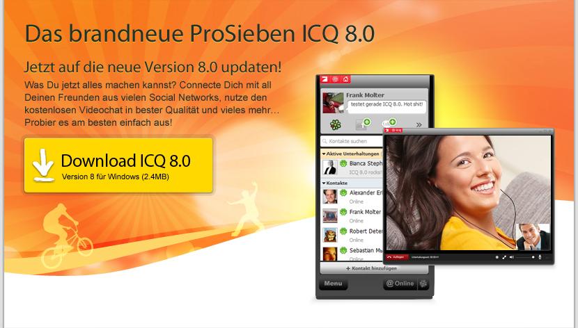 icq sat 1 downloaden: